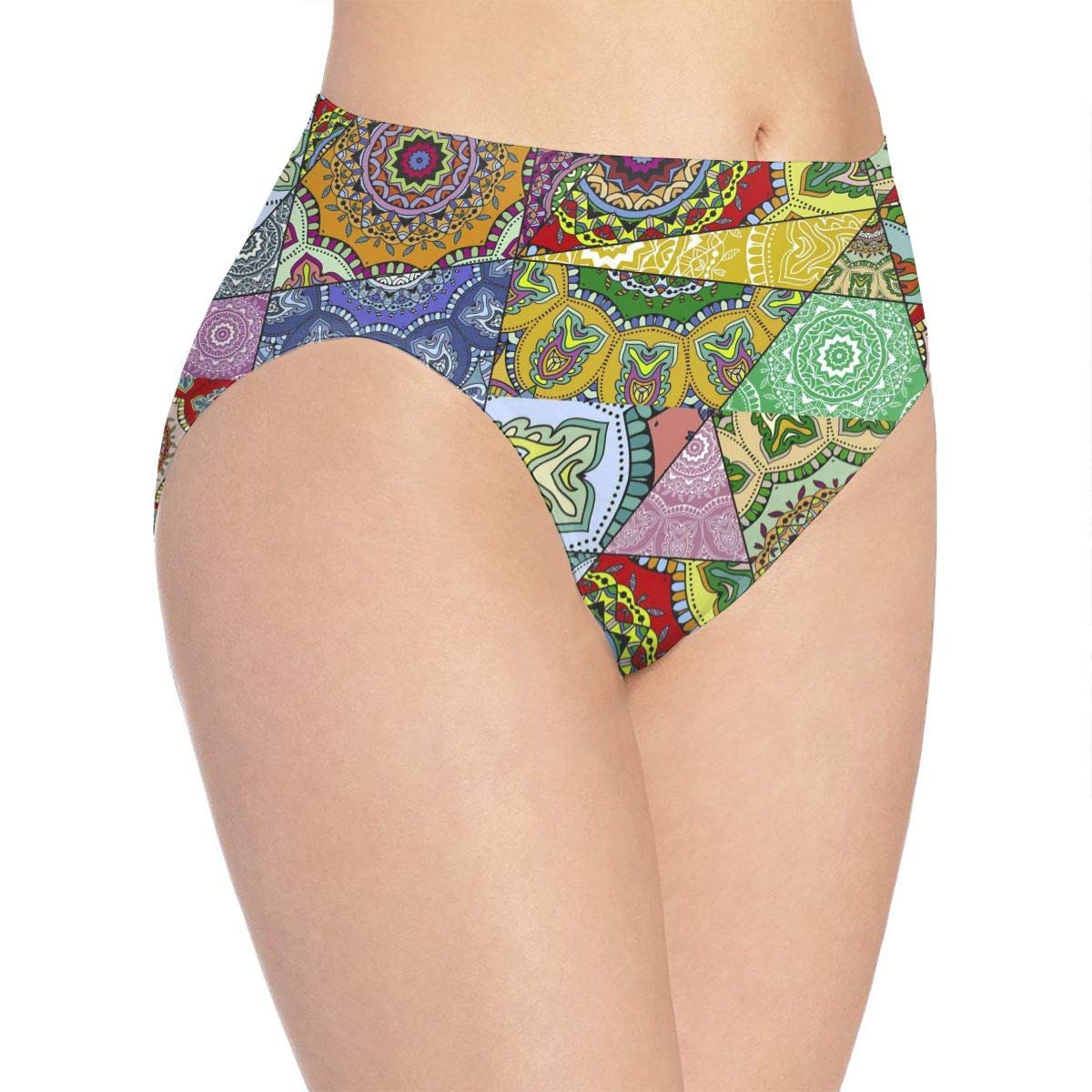 Eplus Womens Diverse Prints Underwear Hipster Bikini Briefs Panties