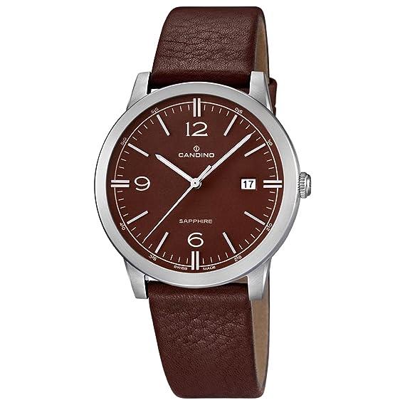 Candino Classic C4511/3 Reloj de Pulsera para hombres Plano & ligero