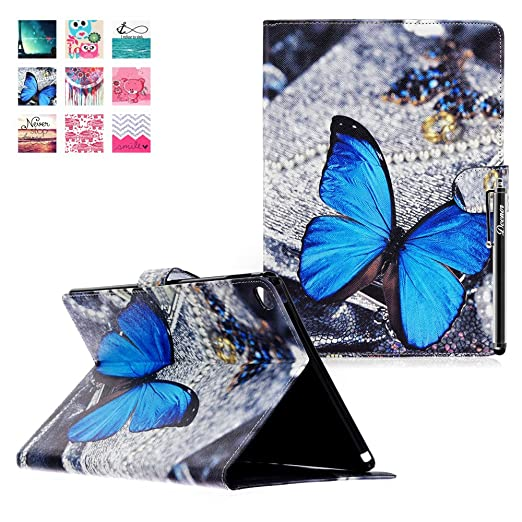 14 opinioni per Custodia per iPad Air 2, DEENOR PU Leather Cover Stand Flip Custodia Cover per