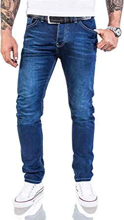 Rock Creek Jeans Designer Uomo Jeans Stretch Jeans Basic Slim Fit W29-W40 M21