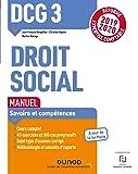 DCG 3 Droit social - Manuel - Réforme 2019-2020: Réforme Expertise comptable 2019-2020