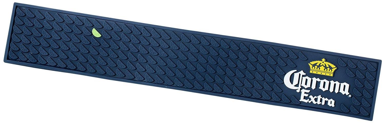 Corona Extra Professional Lime Design Bar Mat Spill Mat Rail Drip Mat