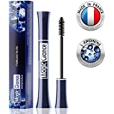 Natural Eyebrow and Eyelash Growth Serum for Longer, Fuller & Thicker Lashes - Made in France - Extra Big Tube 0.3Oz - Fast Results in 10 Days - High Potency Formula