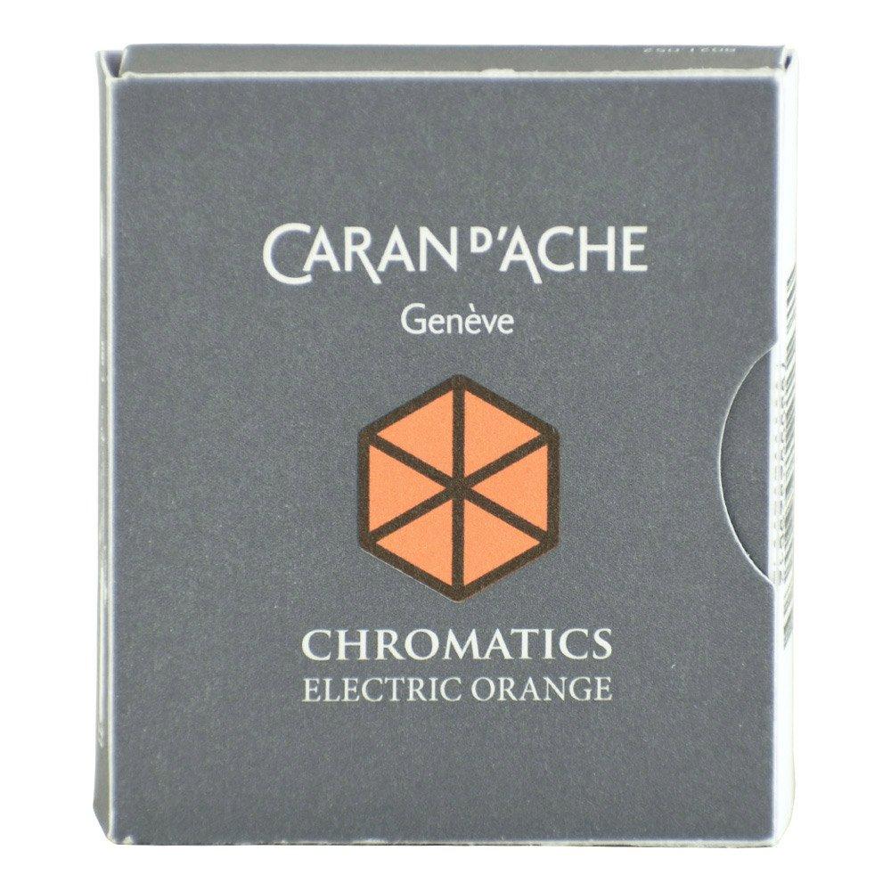 CARAN DACHE Cartucho de tinta cromática naranja eléctrico