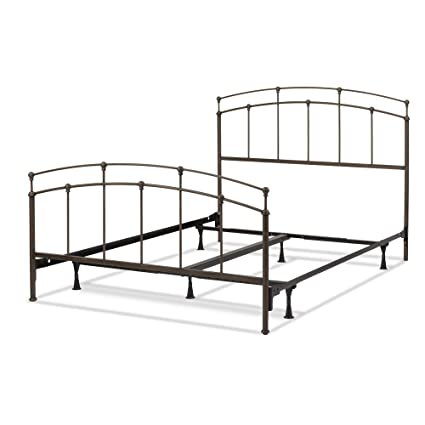 171f0e2051ca Amazon.com  Leggett   Platt Fenton Complete Metal Bed and Steel Support  Frame with Gentle Curves