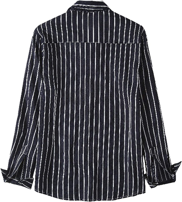 Camisas Informales de algodón para Hombres, Manga Larga ...