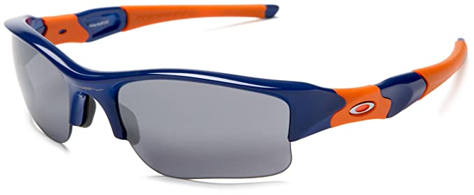 5667b1023e Image Unavailable. Image not available for. Color  Oakley Men s Flak Jacket  XLJ New York Mets Sunglasses ...