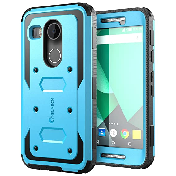 outlet store 977dd 305f7 Nexus 5X Case, [Heavy Duty] i-Blason Google Nexus 5X Phone Case Armorbox  [Dual Layer] Hybrid Full-body Protective Case with Front Cover and Builtin  ...