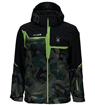 Spyder Quest Zermatt - Chaqueta de esquí Verde Camo, Invierno, Hombre, Color Grün Camo, tamaño 48: Amazon.es: Deportes y aire libre