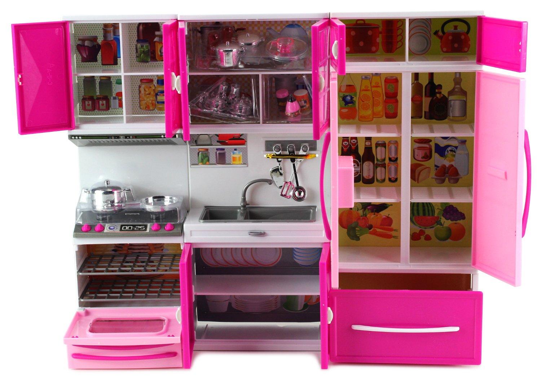 Amazon.com: My Happy Kitchen Stove Sink Refrigerator Battery ...