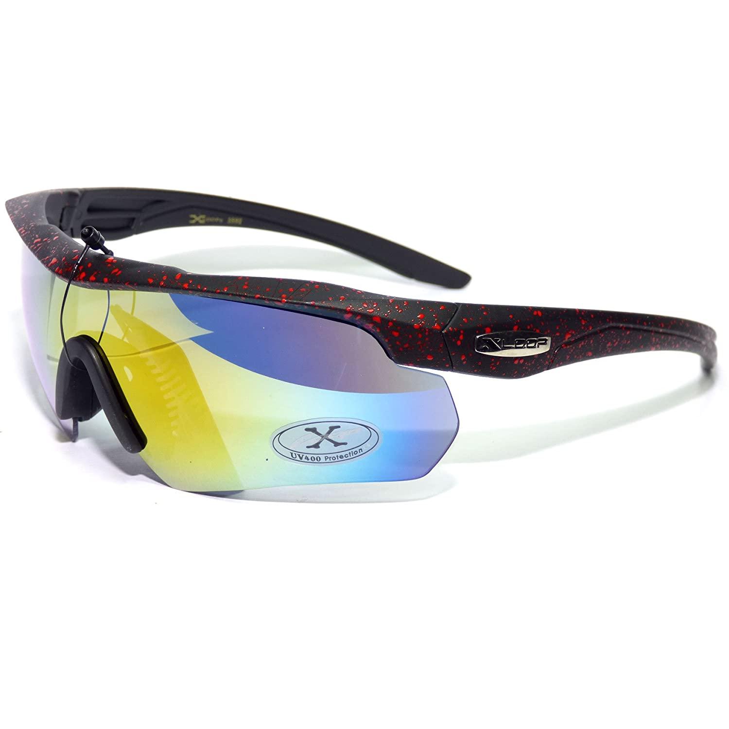 #XL6-S4 XLoop Eyewear /® Red Trim Outdoor Sports Sunglasses