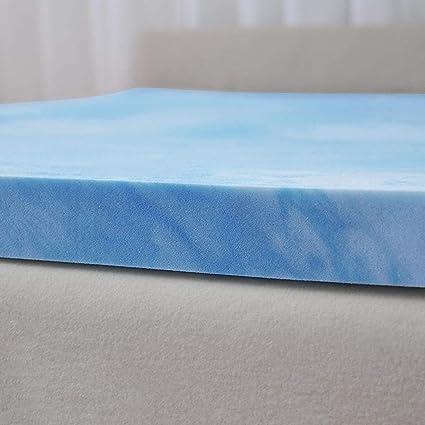 Amazoncom Serta Soothing Cool 3 Inch Gel Memory Foam Mattress