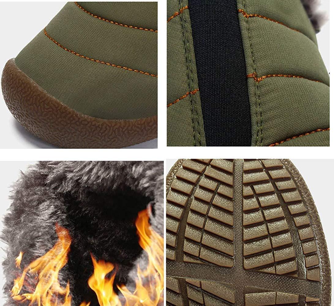 FuweiEncore Männer Und Frauen Warme Schnee Stiefel Stiefel Stiefel Studenten Warme Baumwollschuhe (Farbe   Blau, Größe   36EU) 6cf18d
