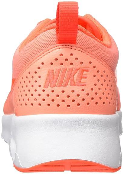 separation shoes aa5cd b494d Nike Women s Air Max Thea Atomic Pink TTL Crimson White Running Shoe 7 Women  US  Amazon.in  Shoes   Handbags