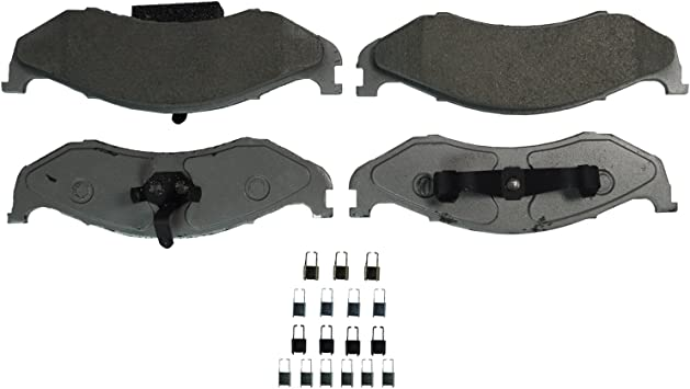 Disc Brake Pad Set-ThermoQuiet Disc Brake Pad Front Wagner QC1083
