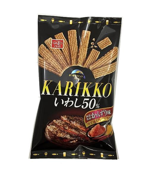 Ichimasakamaboko crujiente este sardina 50% (sabor Kanzuri) 30gX10 bolsas