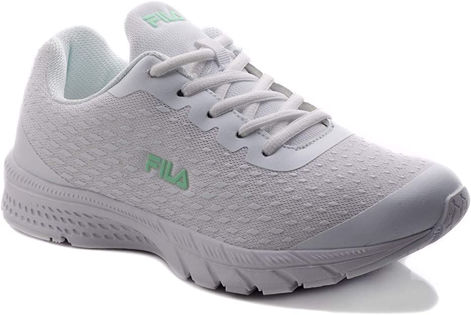 Fila Womens Tayrona Running Shoes White in Size 40: Amazon.es ...