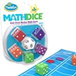 Think Fun Math Dice Junior Game for Boys and Girls Age