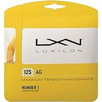 Wilson Unisex Adult 2-WRZ997110 Luxilon 4g String Set Go, 125 Reel - Gold, 12.2 m