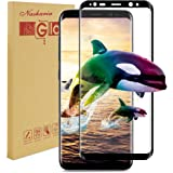 Galaxy S8 Plus Screen Protector, Nasharia Samsung Galaxy S8 Tempered Glass 0.25mm Thin Coverage Screen Protector, 9H Hardness, Bubble Free, Anti-Fingerprint HD Screen Protector Film