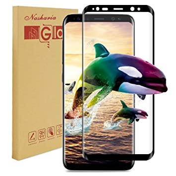Galaxy S8 Plus Panzerglas Schutzfolie Nasharia 9h Amazon De