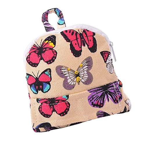 MagiDeal Dolls Schoolbag Backpack Accessory for 18inch American Girl Doll Butterflies