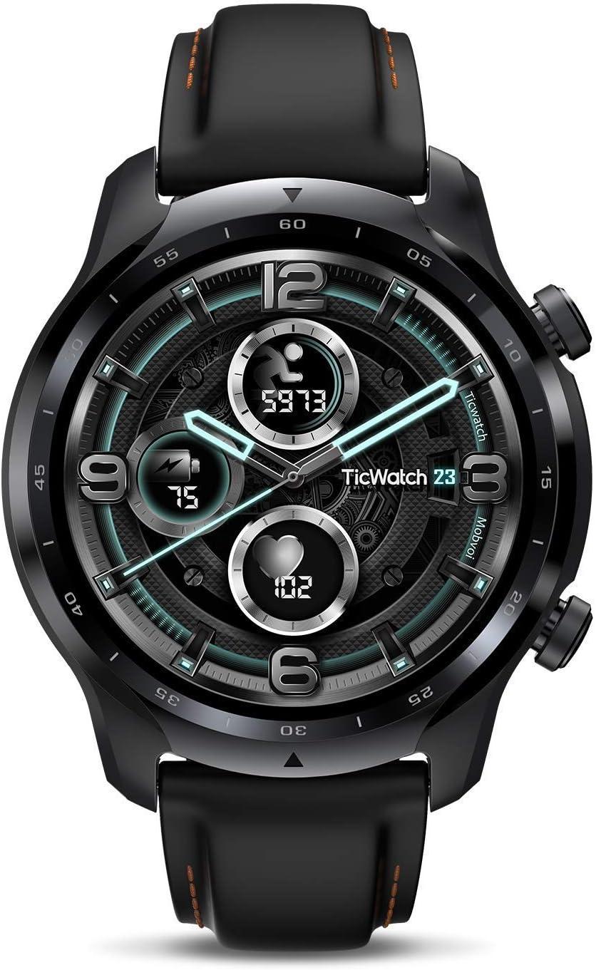 TicWatch Pro 3 GPS Smart Watch Men's Wear OS Platform Health Fitness Monitoring
