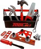 Amazon Com Home Depot 18 Piece Tool Box Toys Amp Games