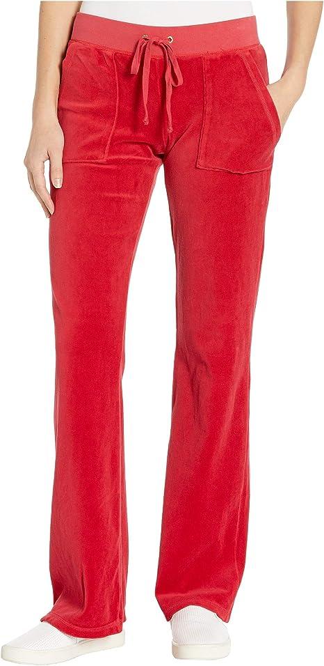Juicy Couture Black Label - Pantalón de Terciopelo Entretejido ...