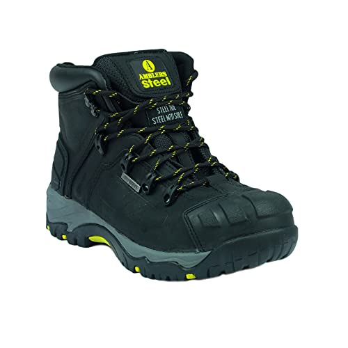 Amblers Safety FS32 Safety Boots Black Size 3 0AjBZwTuq4