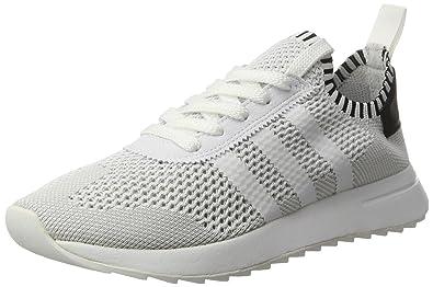 online store 35ff7 ebc0b adidas Primeknit Flashback, Scarpe Running Donna, Bianco (Ftwr White Core  Black