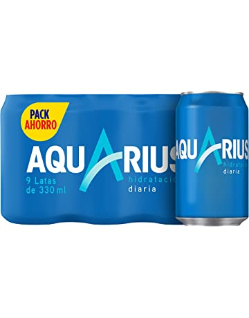 Aquarius - Limón, Bebida para deportistas, refresco sin gas, 330 ml (Pack