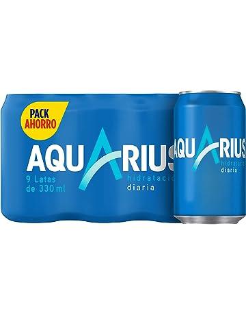 Aquarius - Limón, Bebida para deportistas, refresco sin gas, 330 ml (Pack