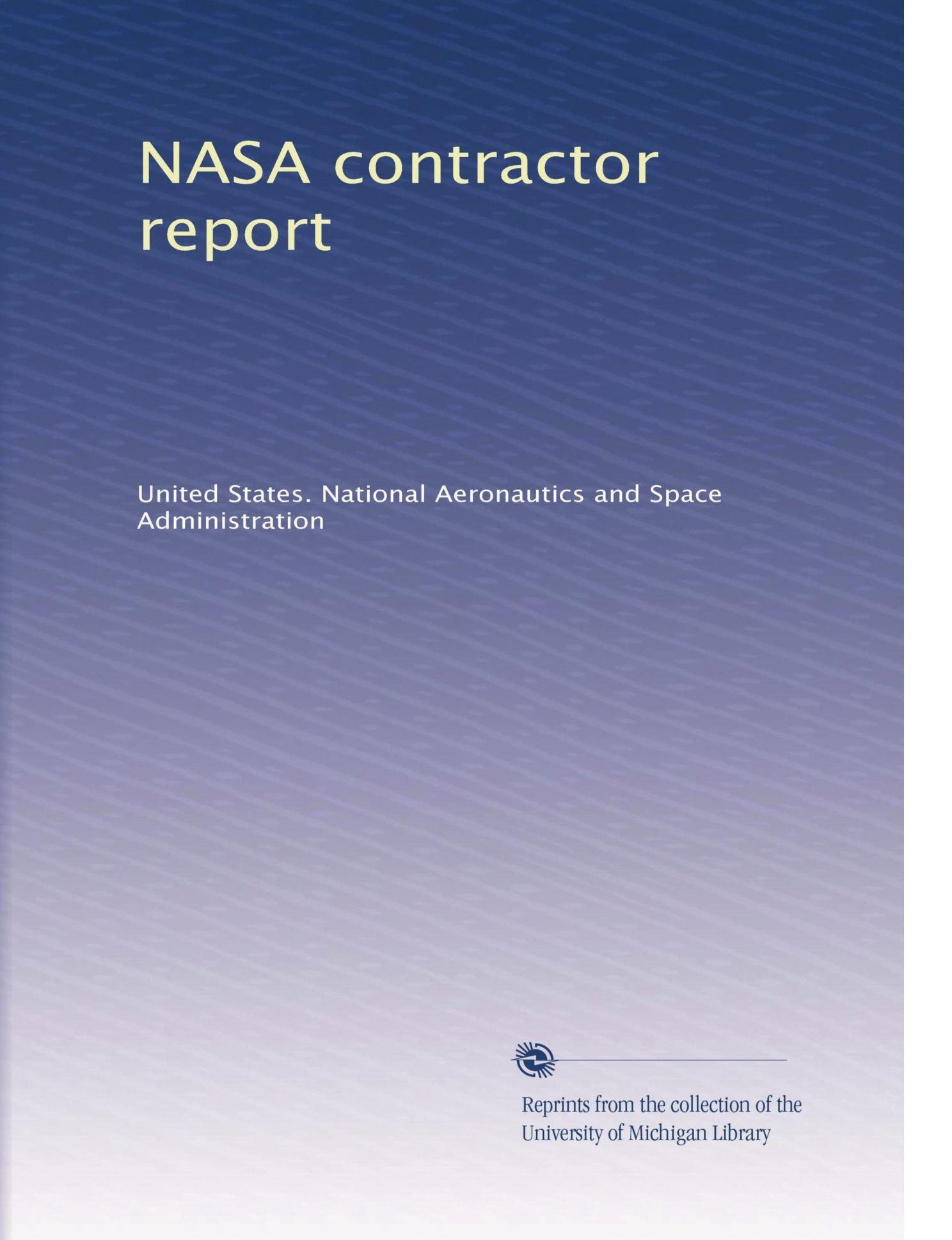 Download NASA contractor report pdf