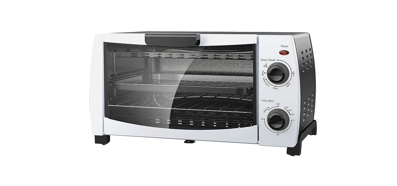Mainstays 4-Slice Toaster Oven, White