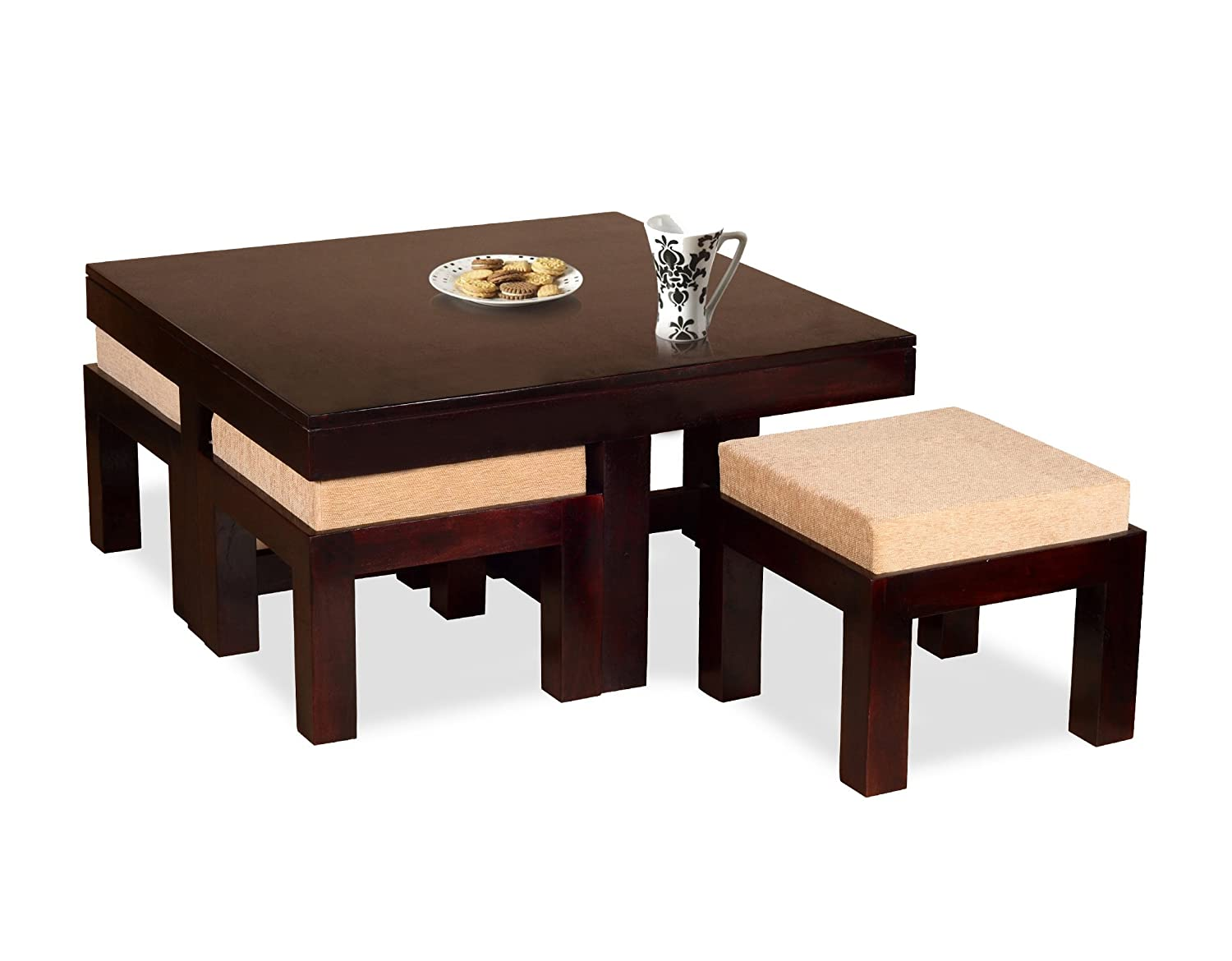 Madera coffee table mahogany amazon home kitchen geotapseo Gallery