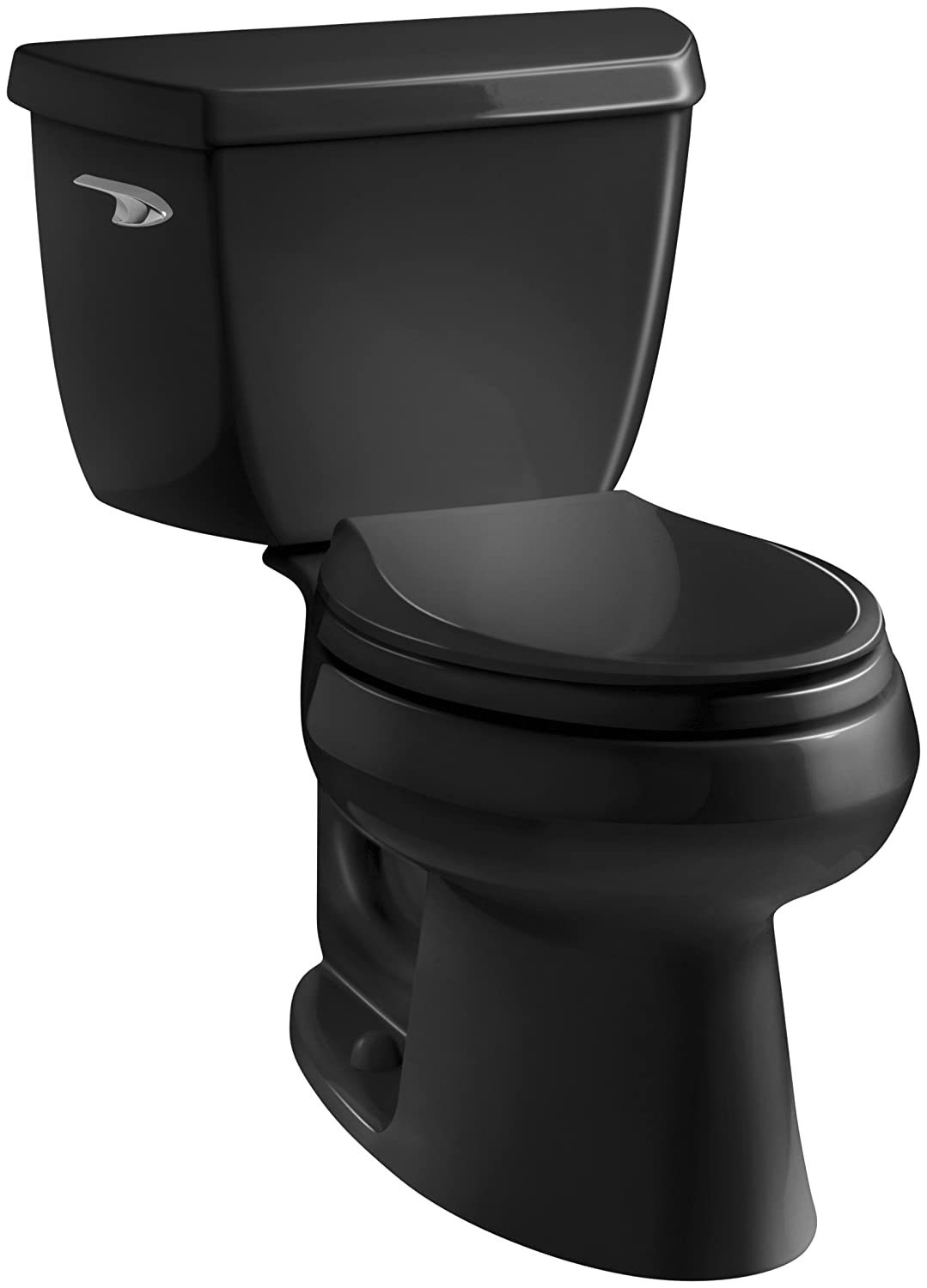 Kohler K-3575-0 Wellworth Classic 1.28 gpf Elongated Toilet with ...