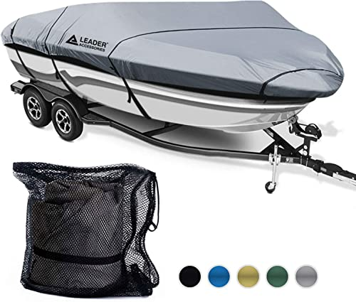 Waterproof Trailerable Runabout Boat Cover [Leader] Picture