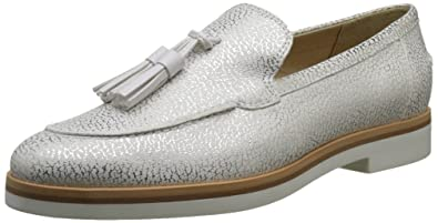 Geox D Janalee E, Mocassins Femme, Blanc (Off White