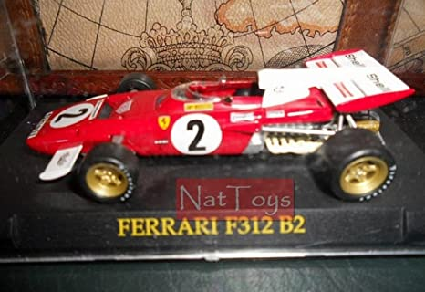 EDICOLA Ferrari Fabbri Collection F312 B2 MODELLINO Die Cast Model 1 ...