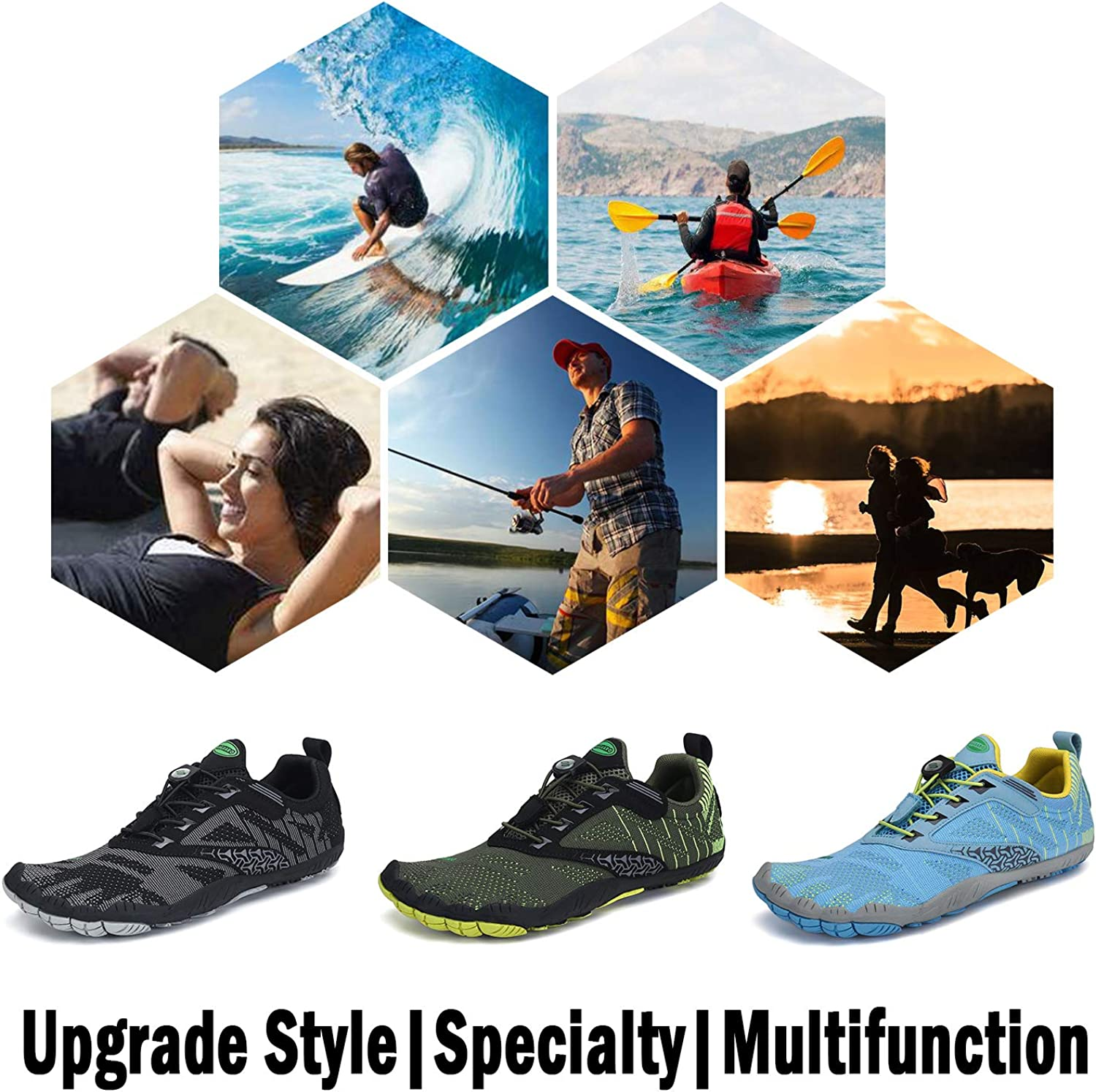Outdoor Cross Trainer Zero Drop Sole Saguaro Mens Womens Minimalist Trail Running Shoes Barefoot Walking Wide Toe Box Trail Running Sports Outdoors