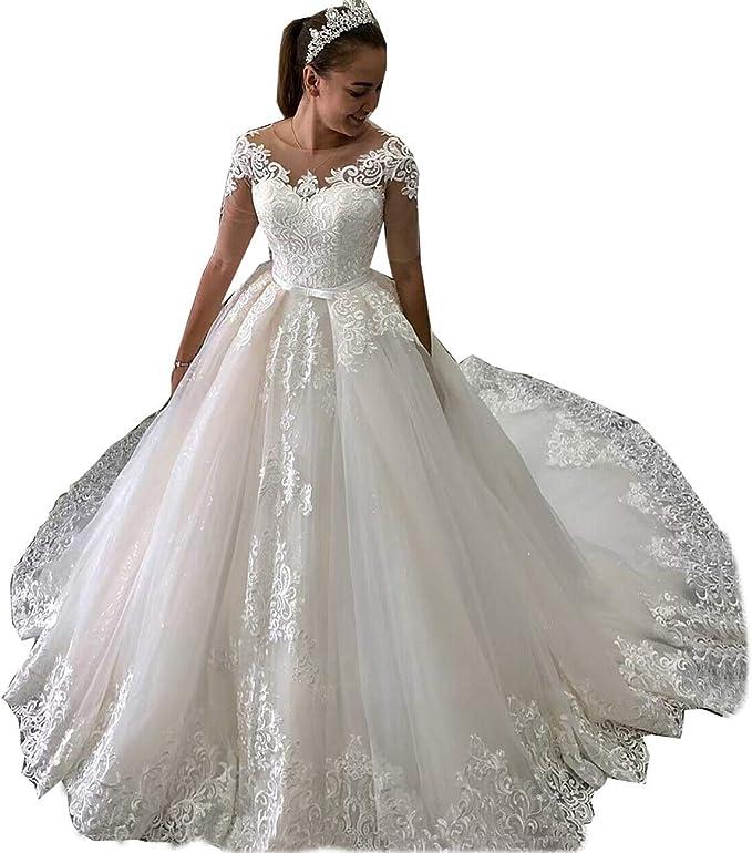 Onlyfine Women S Elegant Off The Shoulder Ball Gowns Wedding