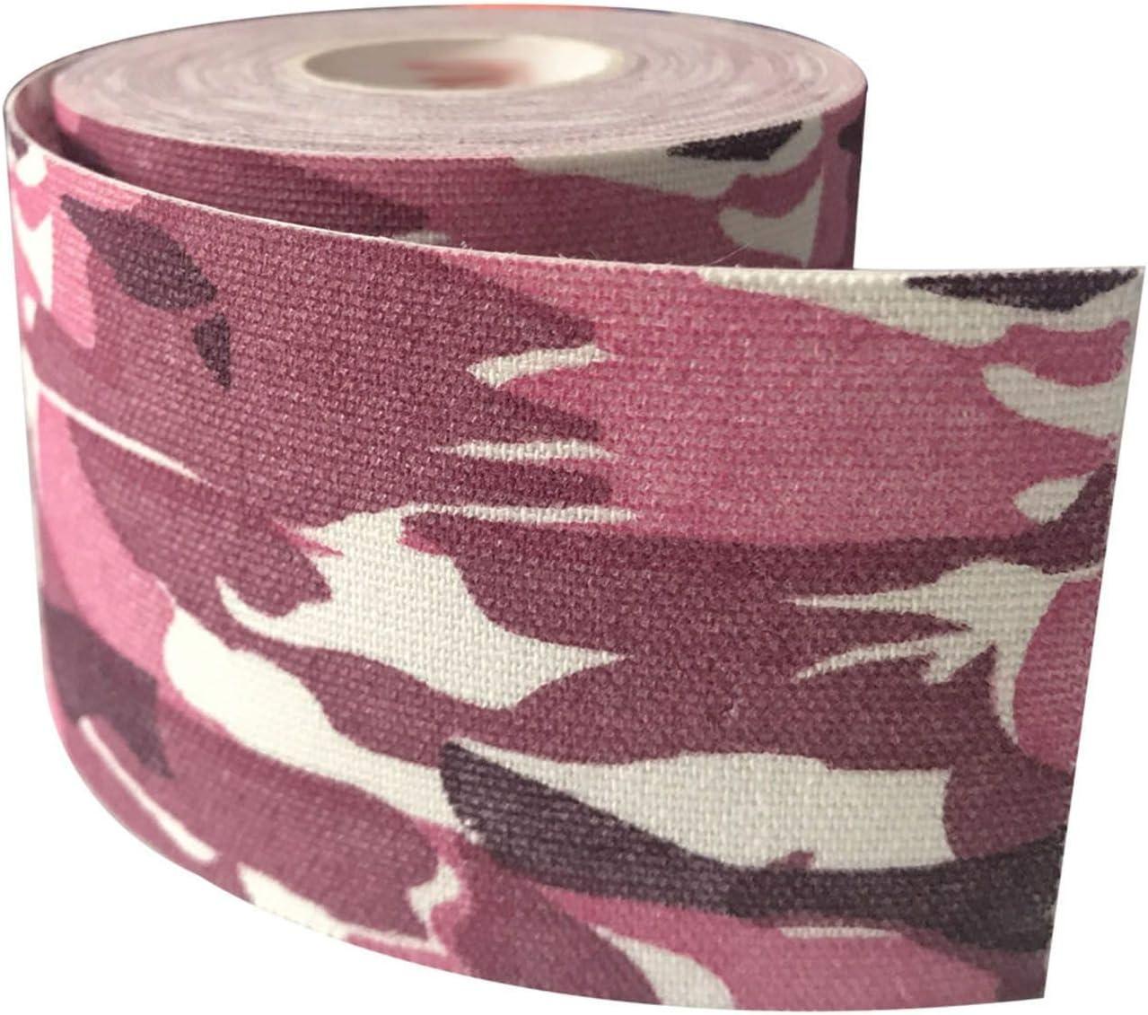 6 rollos de cinta de kinesiología elástica de algodón impermeable para vendaje de rodilla, codo, protector muscular deportivo, ancho de cinta 2,5 – 5 cm: Amazon.es: Salud y cuidado personal