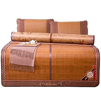 YNN Colchoneta de bambú Plegable Colchoneta de refrigeración para el Verano Colchón para Dormir Colchón de ...