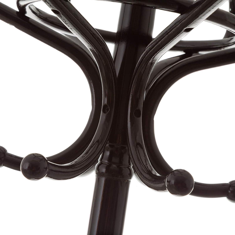 Perchero de Suelo de Madera marrón clásico para la Entrada ...