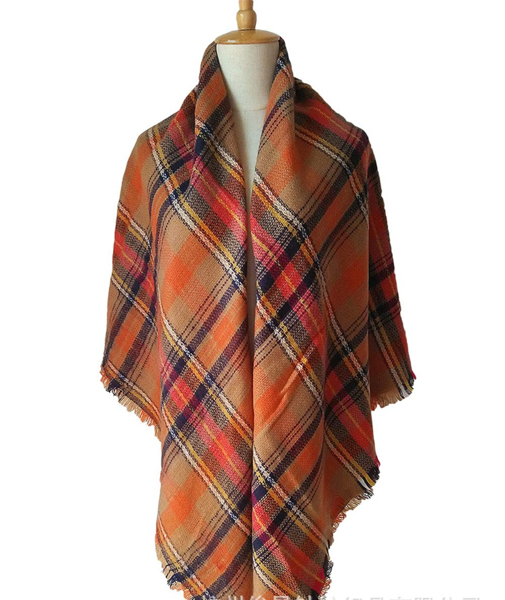 YHC Woman's Eternal Style Scarf, Classic Elegant Carpet Lattice Scarf by YHC (Image #1)