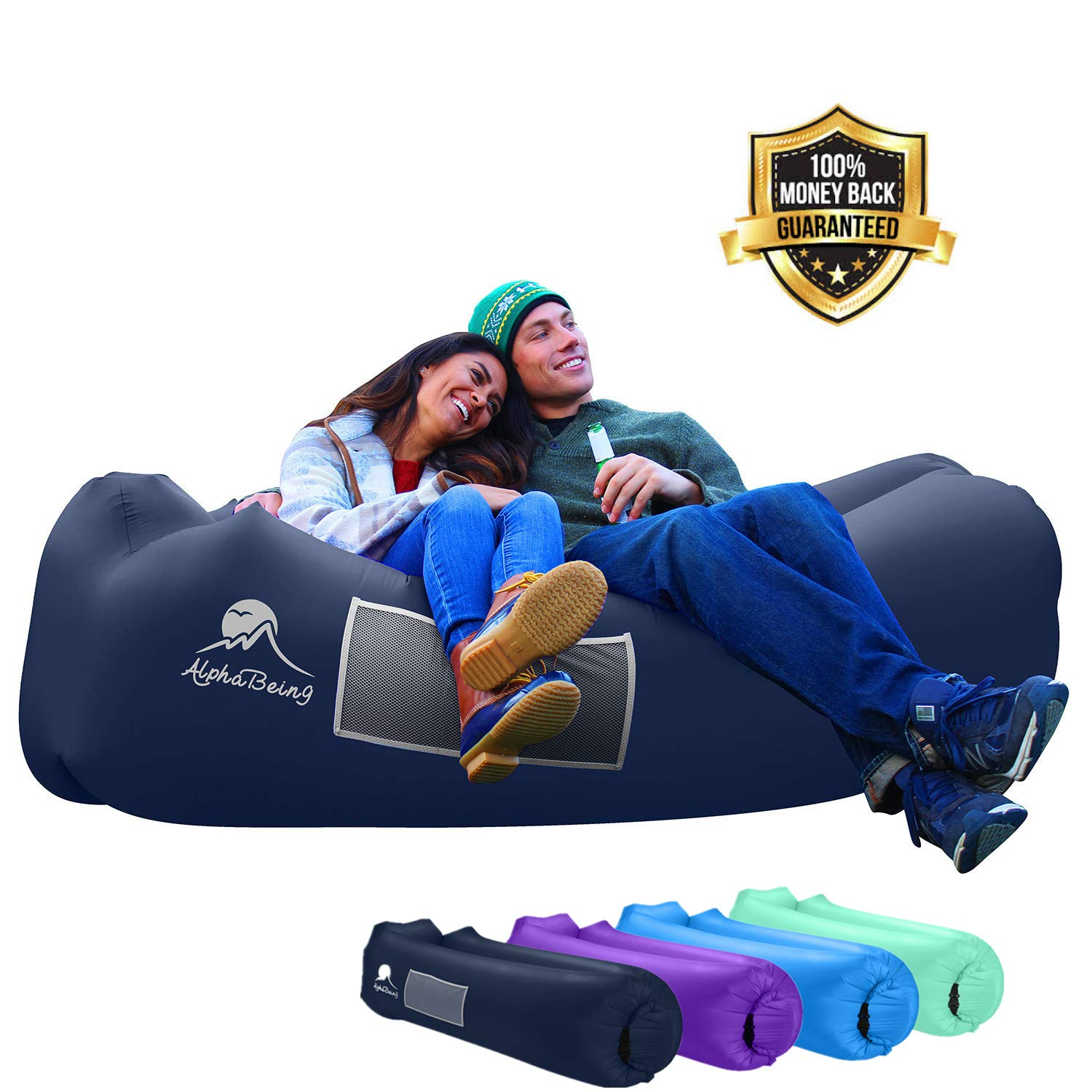 AlphaBeing Inflatable Lounger Helinox Chair Zero