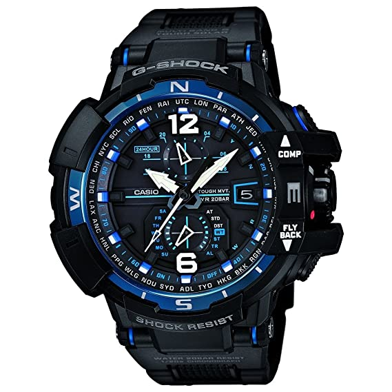 Casio – gw-a1100fc-1aer – Reloj Hombre – Cuarzo digitale – Radio/