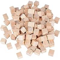 Cubos Madera Bloques Cuadrados para Manualidades Diy Artesanía