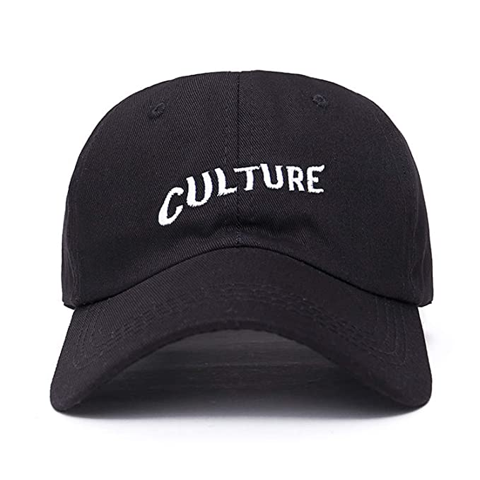 New Migos Culture Hat - Black Dad Cap Hip hop Rap Album Bad